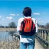 Plecak torba Mili Funny Bag – miedziana pomarańcza 5