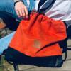 Plecak torba Mili Funny Bag – miedziana pomarańcza 6