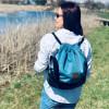 Plecak torba Mili Funny Bag – turkus 6