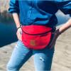 Nerka saszetka Mili Belt Bag L - czerwona 2