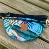 Nerka saszetka Mili Belt Bag L - liście palmy 2