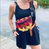Nerka saszetka Mili Belt Bag L - liście reggae 4