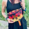Nerka saszetka Mili Belt Bag L - liście reggae 3