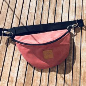 Nerka saszetka Mili Belt Bag L - różowa