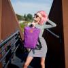 Plecak Mili Urban Jungle - fioletowy 4