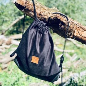 Plecak torba Mili Funny Bag – czarny