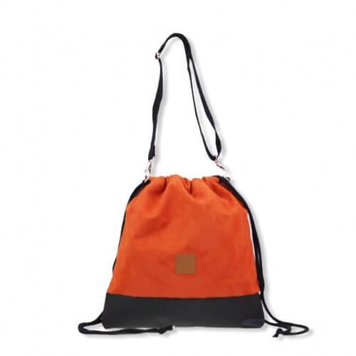 Plecak torba Mili Funny Bag – miedziana pomarańcza