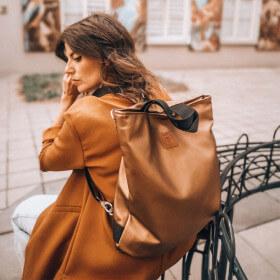 Torba/ plecak Mili Urban Jungle L - stare złoto