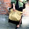 Duża torba typu shopper Mili Duo MD2 - złota 4