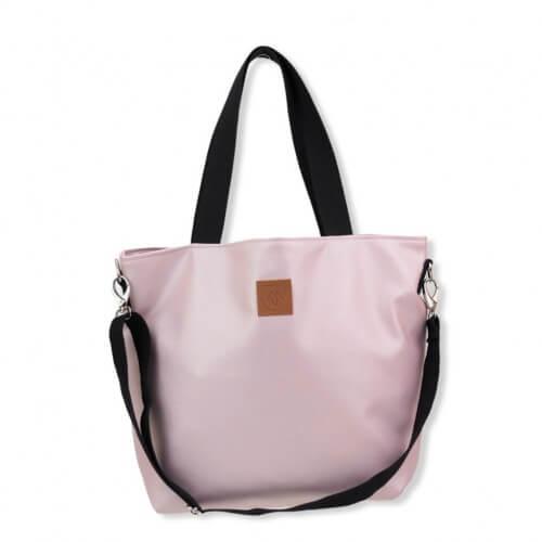 Duża torba typu shopper Mili Duo MD2 - pudrowy róż