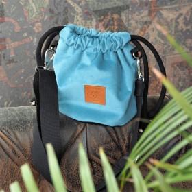 Mała torebka Mili Bucket Bag - turkus