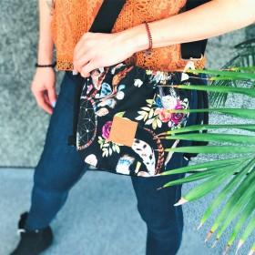 Mała torebka Mili Bucket Bag - łapacze snów