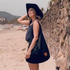 Duża torba worek  Mili Chic MC7 –czarna