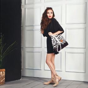 Plecak torba Mili Funny Bag – zebra