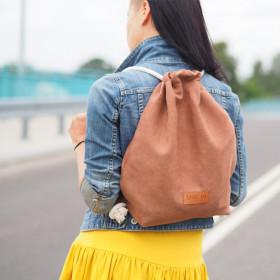 Plecak worek Mili Sac MS1 – brązowy