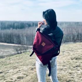 Torba/ plecak Mili Urban Jungle L - bordowy