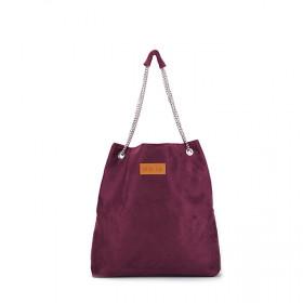Torba worek na łańcuszku  Mili Chic MC5 –burgund