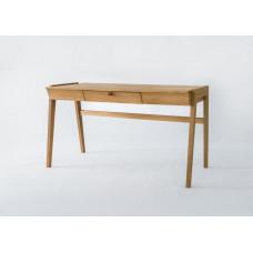 Biurko drewniane Kunsst - Stół z Szufladą Dębowy
