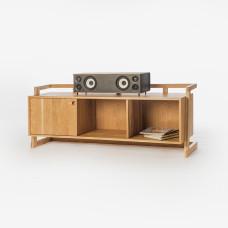 Szafka na gramofon, winyle, TV Kunsst Dębowa z lewymi drzwiczkami