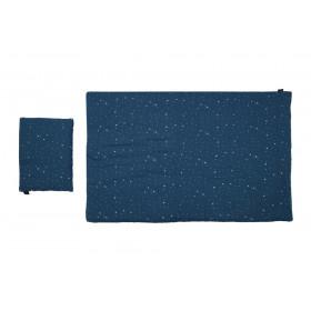 Pościel MUŚLIN Blue Stardust