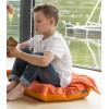 Poduszka do siedzenia na podłodze z metalowym uchwytem