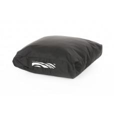 Duża czarna poducha / poduszka do siedzenia na podłodze