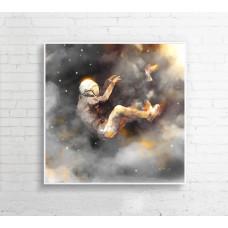 """Obraz na płótnie """"Ucz mnie latać"""" 100x100 cm"""