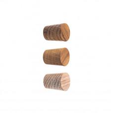 BASIC dębowa gałka meblowa ø 2 cm