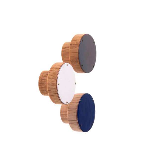 SIMPLE emaliowana gałka do mebli 4 cm
