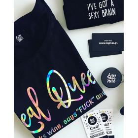 Koszulka Real Queen (czarna)