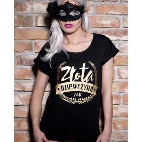 Koszulka Złota Dziewczyna
