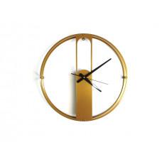 TIK TAK:  zegar EVRA light, duży 46cm ZŁOTY