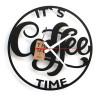TIK TAK: Piękny i ciekawy zegar COFFE 2