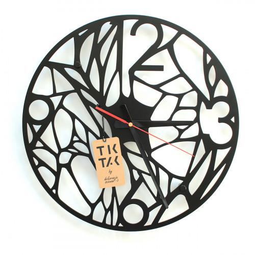 TIK TAK: Nietuzinkowy zegar/dekoracja GRASO