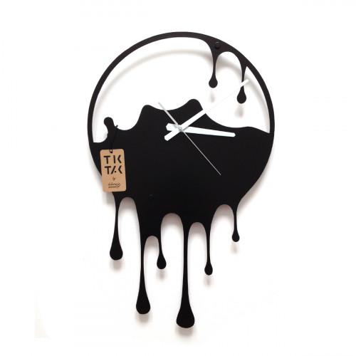TIK TAK: oryginalny zegar ścienny PLASK