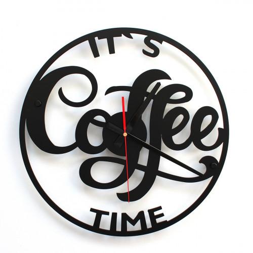 TIK TAK: Piękny i ciekawy zegar COFFE