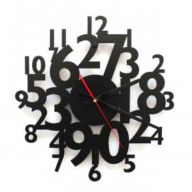 TIK TAK: Piękny i ciekawy zegar CYFRY