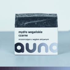 Wegańskie mydło z węglem aktywnym (czarne)