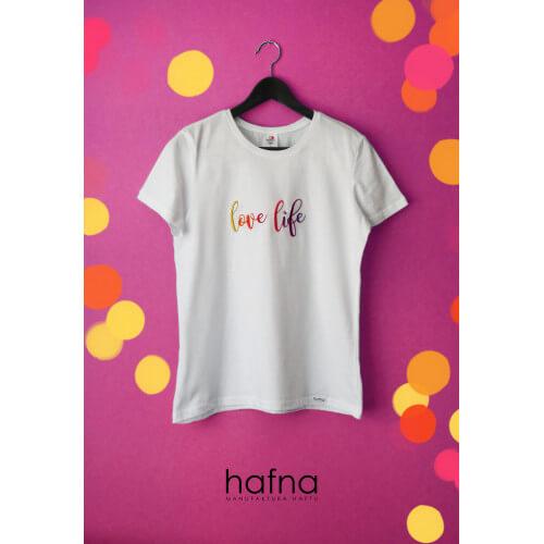 Koszulka z haftem Love Life