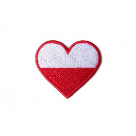 Naszywka Love Poland