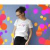 Koszulka z haftem Love Life 2