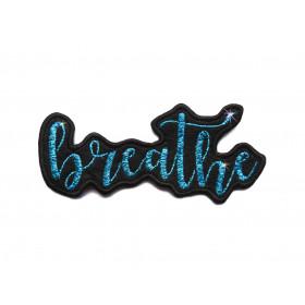 Naszywka Napis Breathe