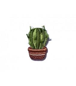 Naszywka Round Cactus
