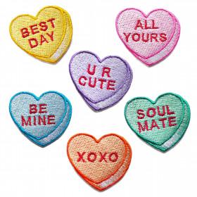 Zestaw naszywek Valentine Hearts