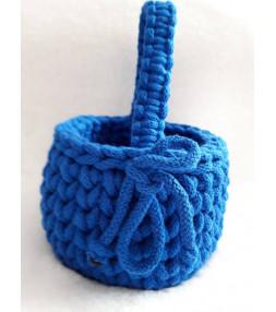 Koszyczek z bawełnianego sznurka