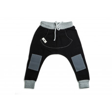 Spodnie baggy BLACK II