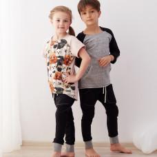 """Spodnie dziecięce typu """"baggy"""" (czarne)"""