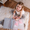 TimoSimo Książeczka sensoryczna dla dziewczynki 3+ 10