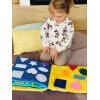 TimoSimo Książeczka sensoryczna dla dziecka 1+ 3