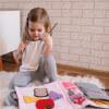 TimoSimo Książeczka sensoryczna dla dziewczynki 3+ 8